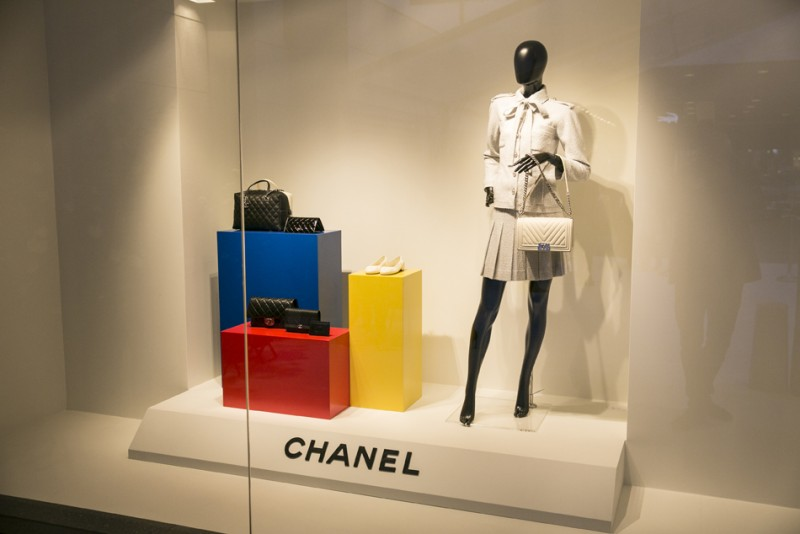 Stivali inaugura shop-in-shop Chanel