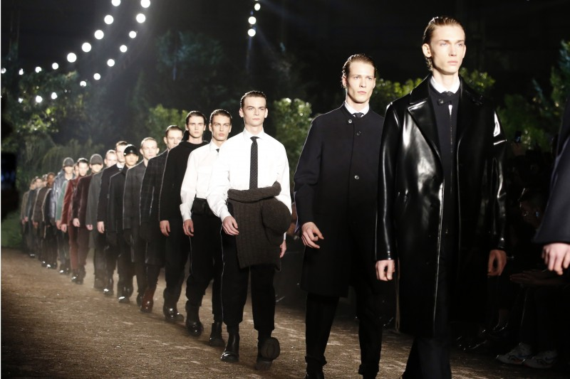Zegna Couture FW15 Fashion Show by Stefano Pilati