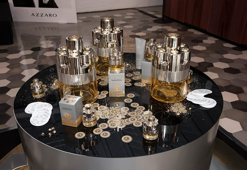 Perfume AZZARO WANTED | Launch in Portugal