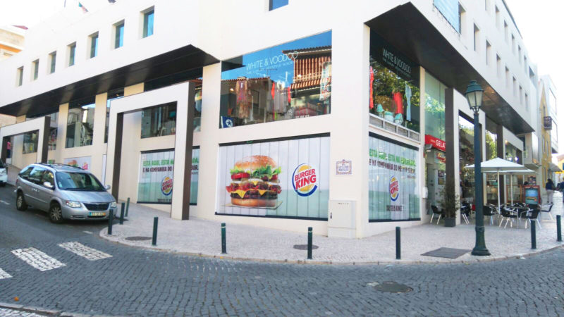 BURGER KING® opens new restaurant in Cascais