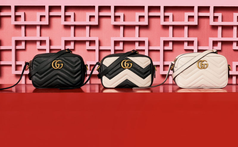 Gucci GG MARMONT purse, a new look for this Fall/ Winter 2016-2017