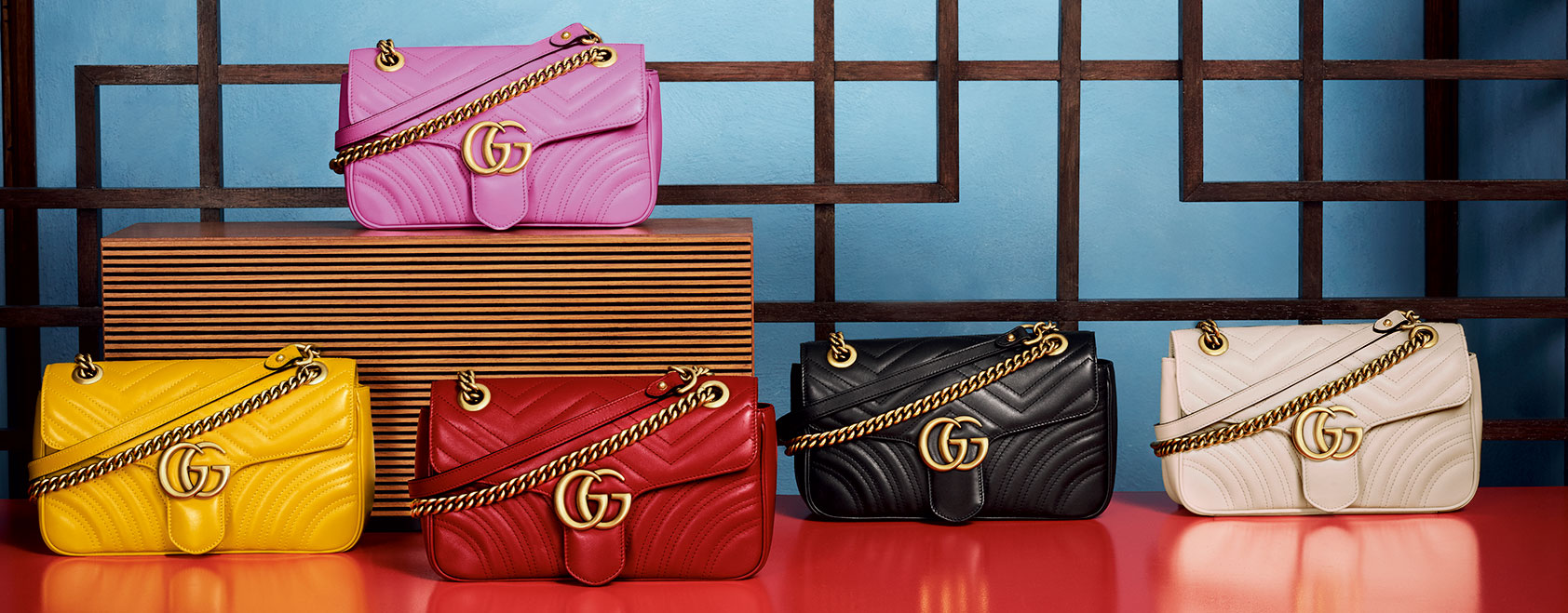 0f045e163 Gucci GG MARMONT purse, a new look for this Fall/ Winter 2016-2017 ...