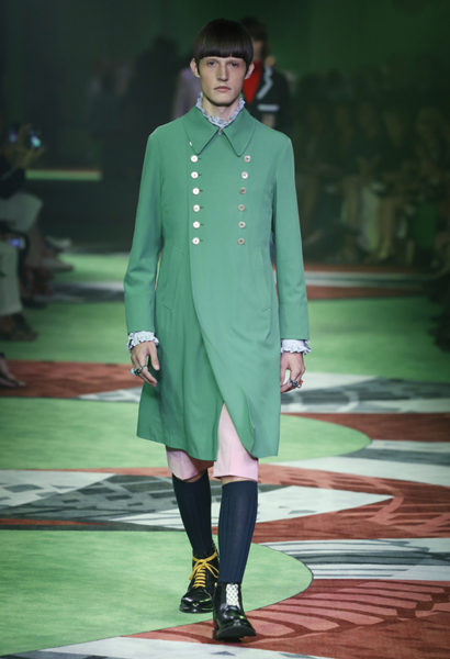 GUCCI MEN 'S COLLECTION SS17
