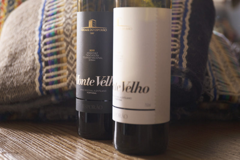 Sit at the table with Monte Velho