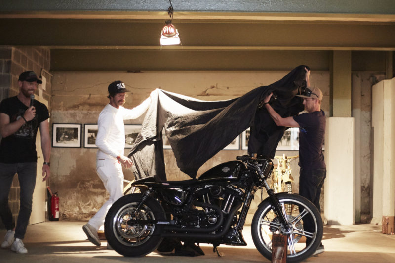 "Harley-Davidson reveals the custom bikes that compete in the European challenge of customization ""Battle of the Kings III"""