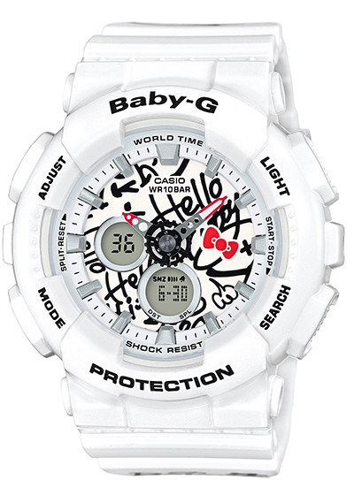 Casio launches BABY-G in collaboration with Hello Kitty