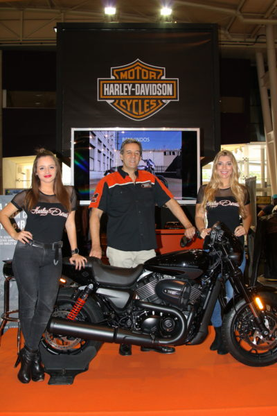 Harley-Davidson Portugal presents a new Street RodTM at Lisbon Moto Show