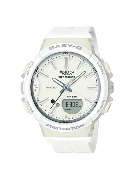 Casio launches the new BABY-G model with automatic daily step counter