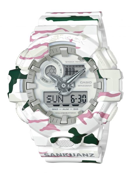 Casio partners with SANKUANZ in a limited edition G-SHOCK