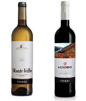 Monte Velho and Assobio are at '100 TOP Values'  of Wine Spectator